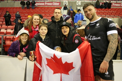 A long 'Away Day' for Canadian suporters