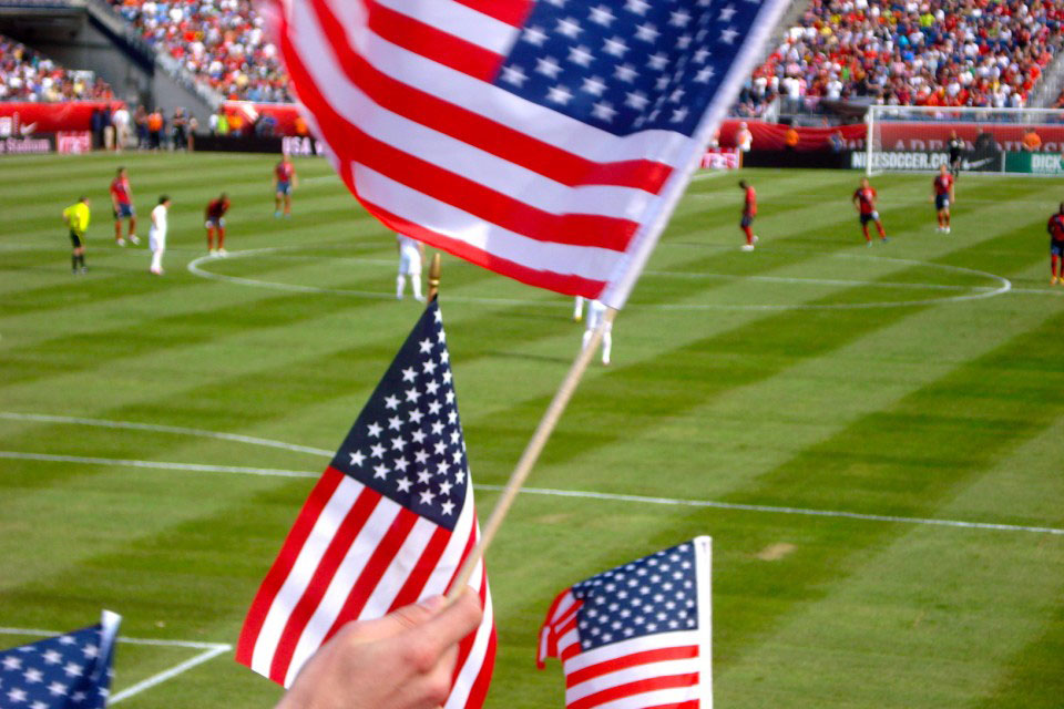 US Flags Soccer