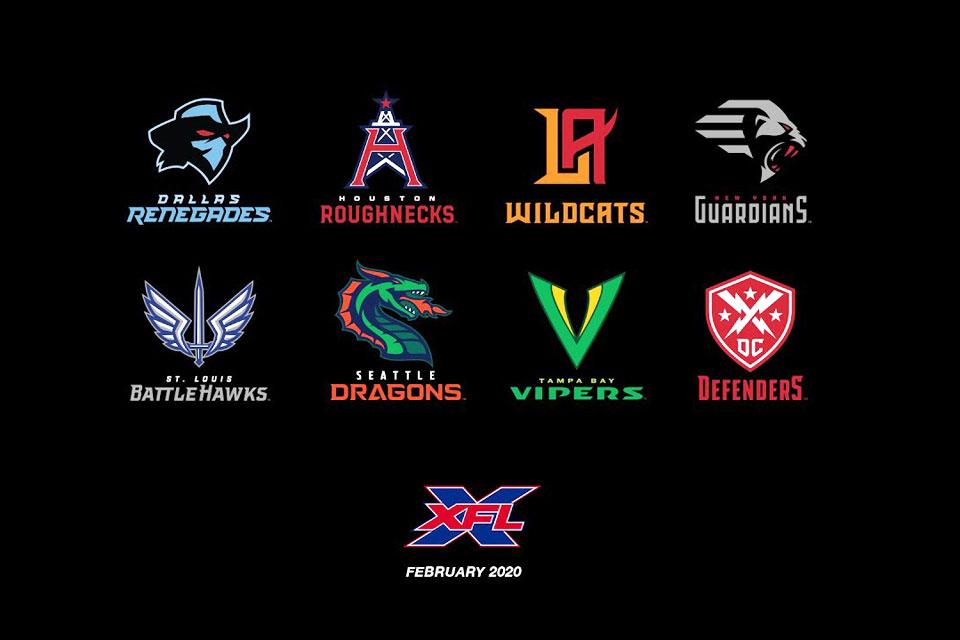 XFL team names