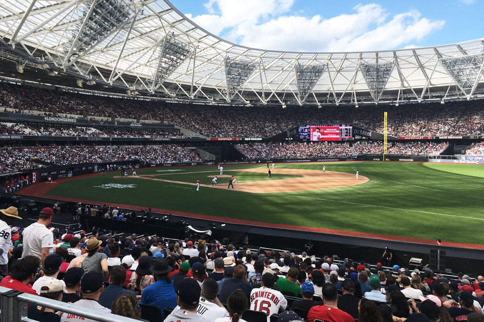 MLB London Series: New York Yankees Boston Red Sox
