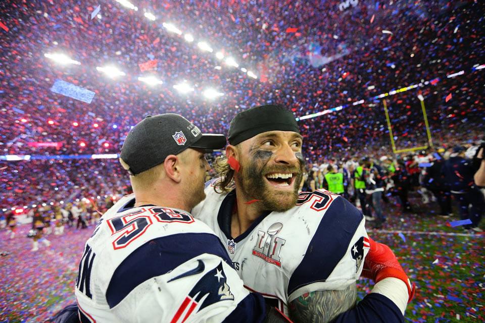 Patriots win Super Bowl