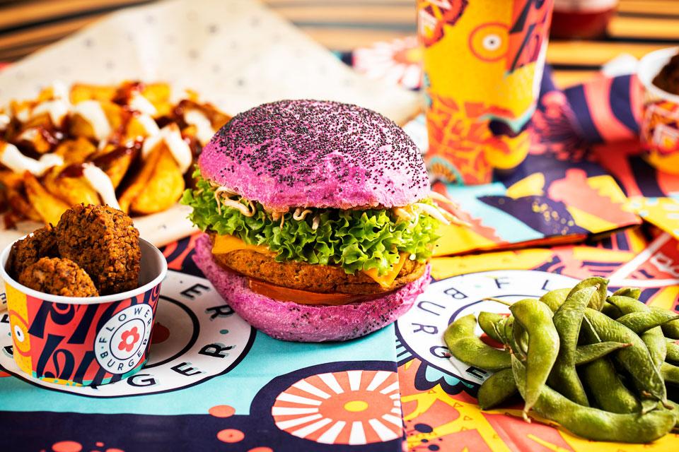 Flower Burger Cherry Bomb
