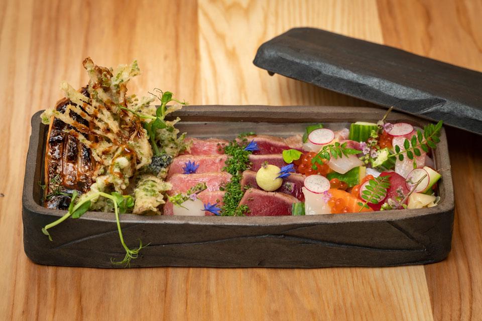 Sumi sushi box