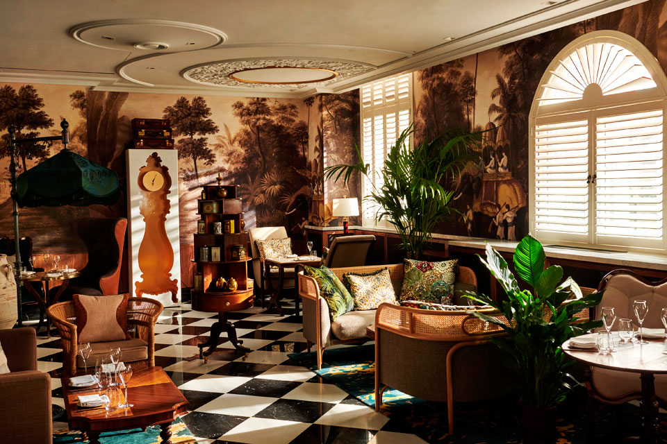 The Parlour at Great Scotland Yard Hotel