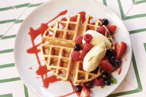 The Vincent waffle